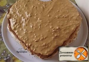 "Торт с безе ""Сердце"""