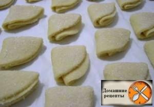 """Творожное печенье """"Конвертики"""""""