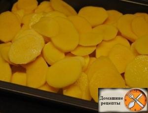 Картофель с шампиньонами в сметане