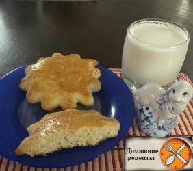 Молочные коржики из детства