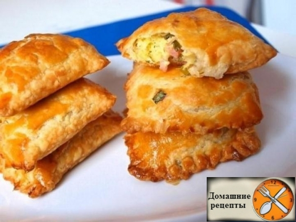Пирожки, жареные на сковороде - пошаговый рецепт с фото на