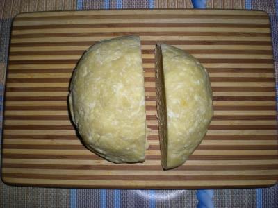 Яблочный песочный пирог