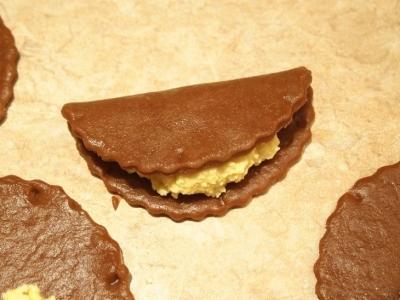Шоколадно-кокосовые сочни