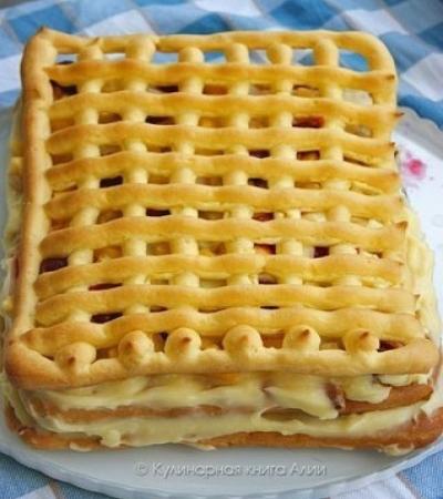 """Оригинальный и вкусный летний торт """"Тропиканка"""""""