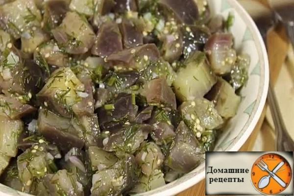 Баклажаны как грибы, пошаговый рецепт с фото