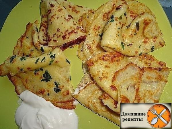 Тонкие картофельные блины - просто объедение