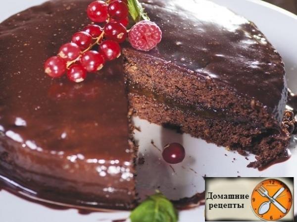 """Венский шоколадный торт """"Захер"""""""