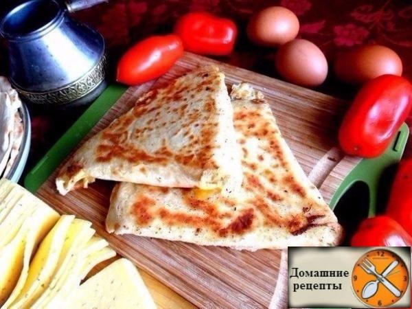 Ёка - закуска из лаваша