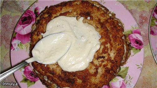 Мясной торт - вкусно и красиво 1