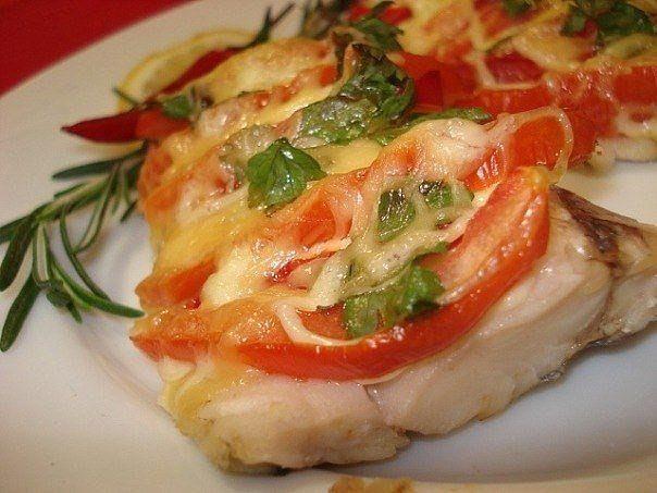 """Рыба """"по-французски"""" на ужин"""