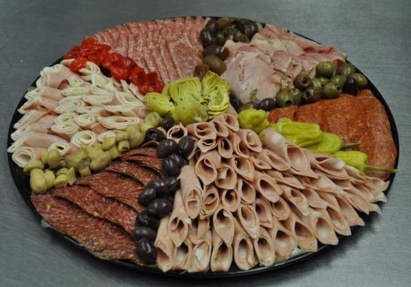Идеи красивой мясной нарезки9