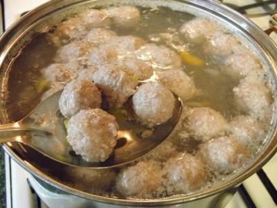 Бабушкин суп с фрикадельками 2