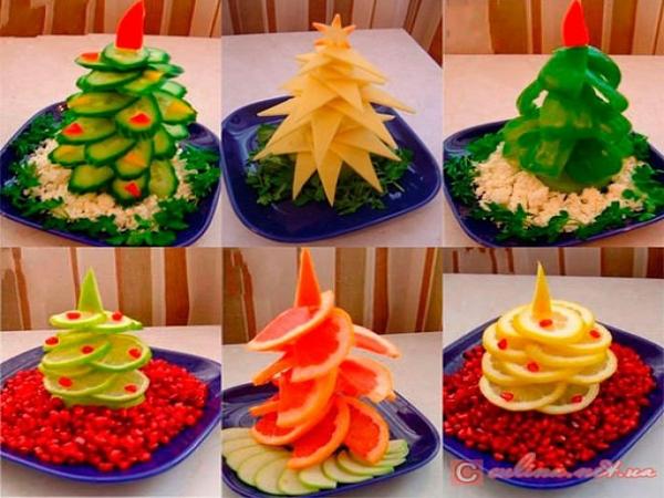 Новогодние елочки своими руками, вкусно и просто! 1