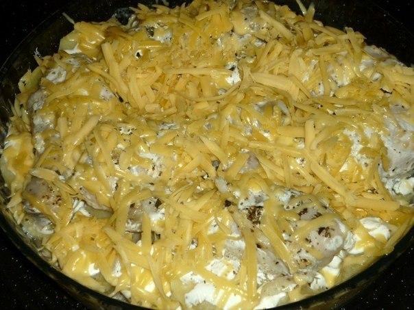 Картошка с куриными ножками в духовке 4