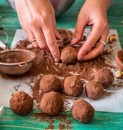 Шоколадно-кофейные трюфели 2