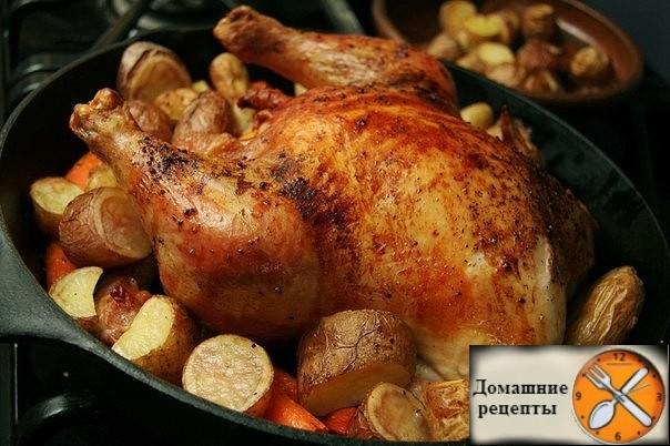 Запеченная курица: три варианта для новогоднего стола!