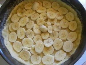 Очень нежный пирог с бананами 4
