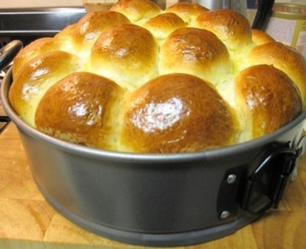 Домашняя хлеб-булка на пахте (кефире) 4