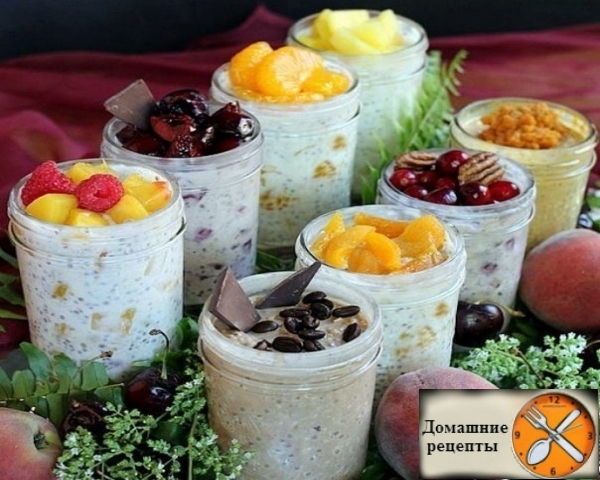 Ленивая овсянка в банке: здоровый быстрый завтрак, который не надо готовить!