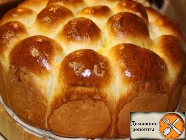 Домашняя хлеб-булка на пахте (кефире)