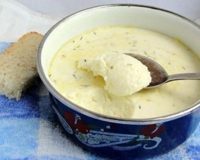 Домашний плавленный сыр 5