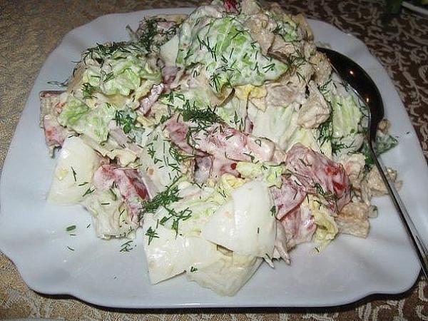 ТОП-6 салатов с пекинской капустой 5