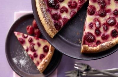 Малиновый пирог 6