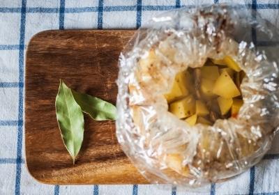 Запеченная картошечка с грибами и сметаной 6