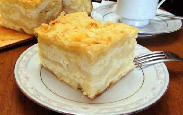 Ачма с сыром и творогом 1