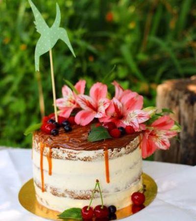 """Удивительный торт """"Колибри"""" 14"""