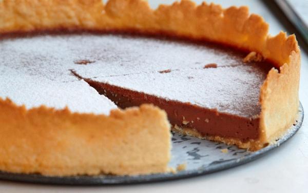 Шоколадный тарт 11