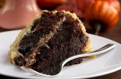 Немецкий шоколадный торт 1