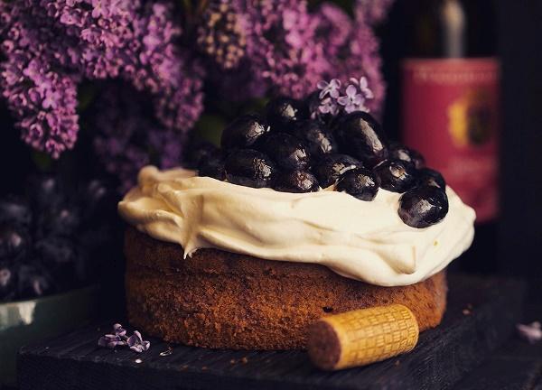Пирог с вином 19