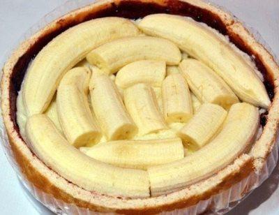 Торт с бананами 4